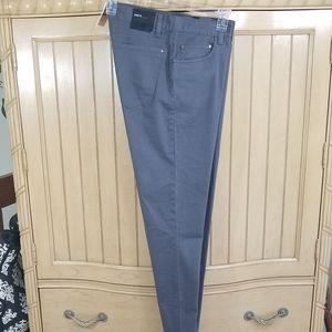 NWT, H&M Slim Fit Grey Button Closure Pants, sz 32